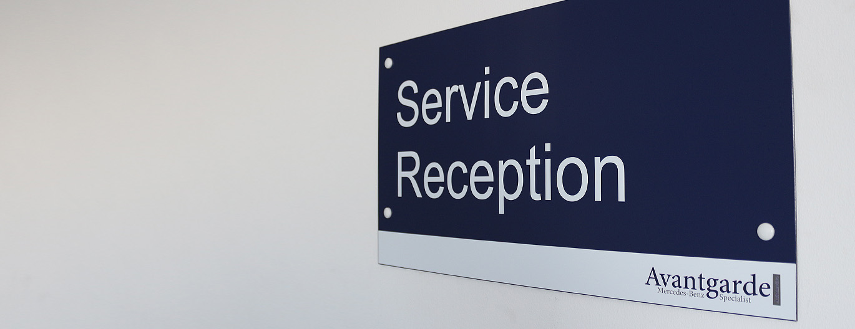 Mercedes Service Entrance